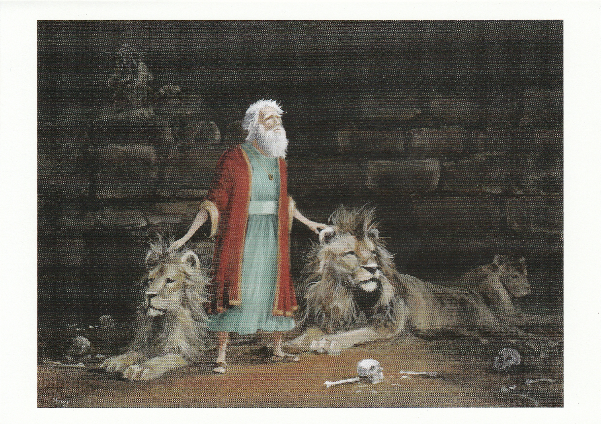 Daniel and the Lion's Pit