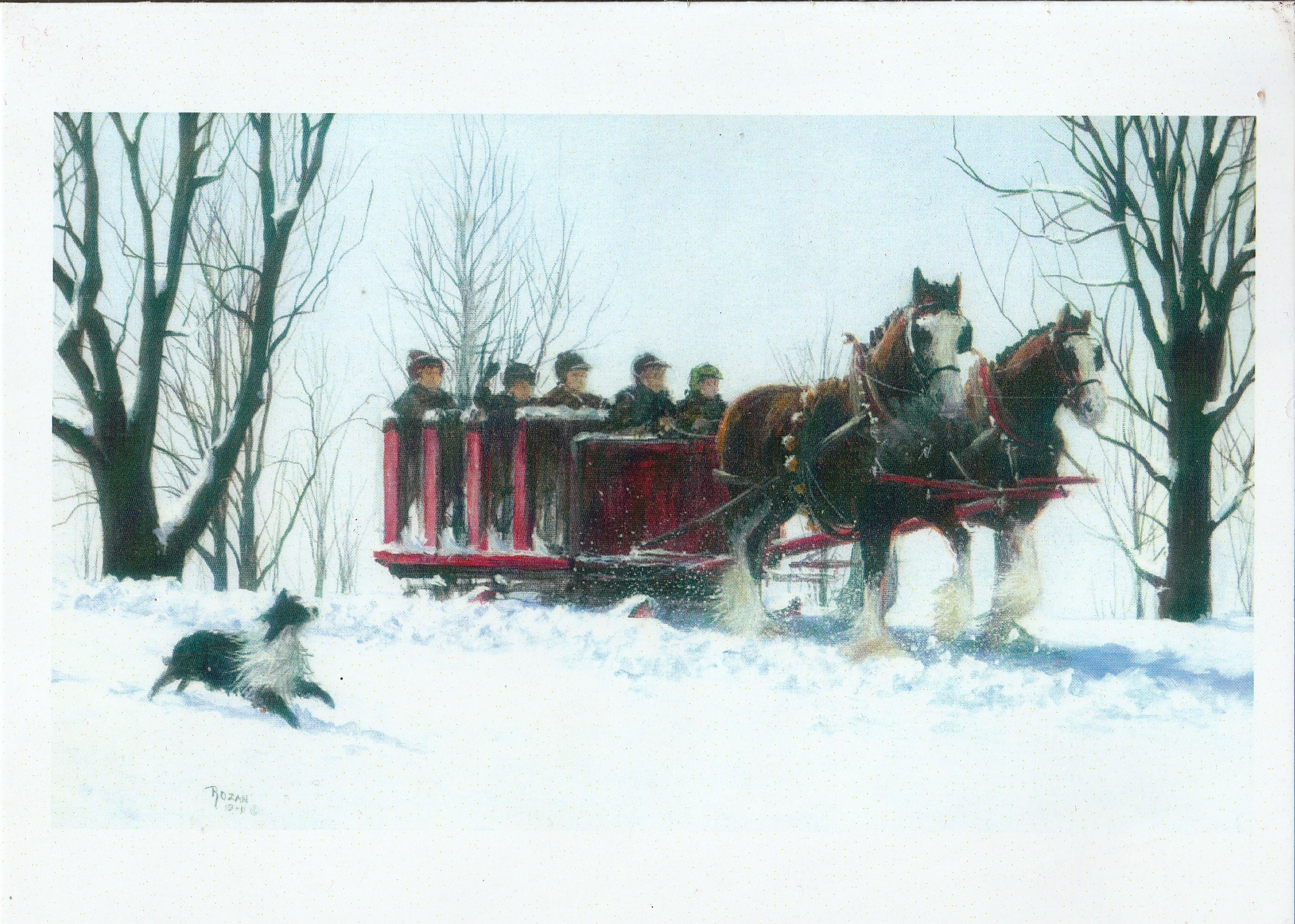 Early Morning Sleighride